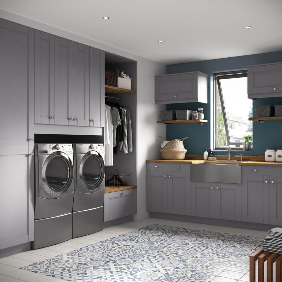 Gray Type Kitchen