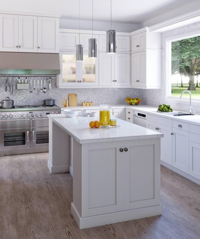 Vanilla White Type Kitchen