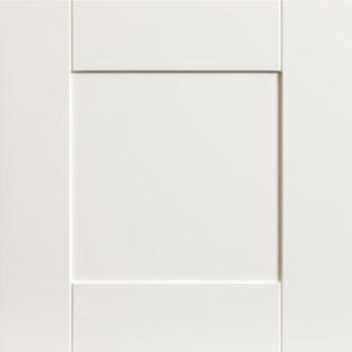 Sample Vanilla White Door