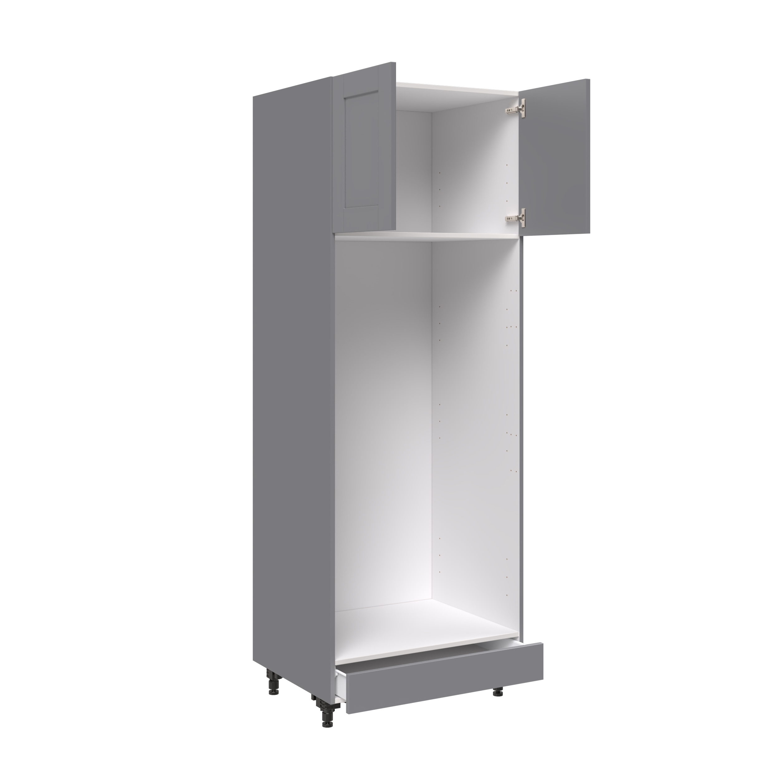30 Tall For Double Oven With 2 Doors And 1 Drawer