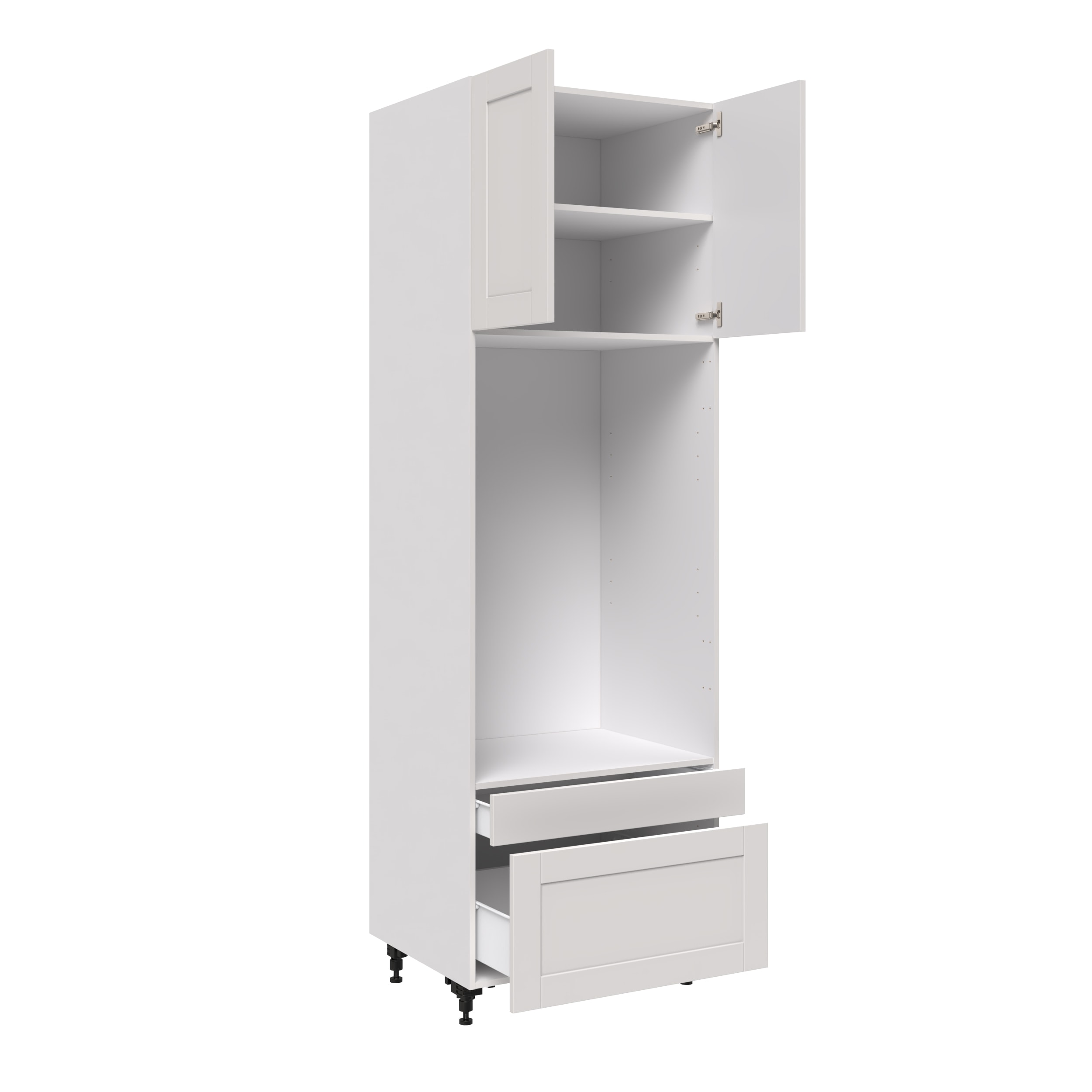 30 Tall For Micro Wall Oven With 2 Doors And 2 Drawers